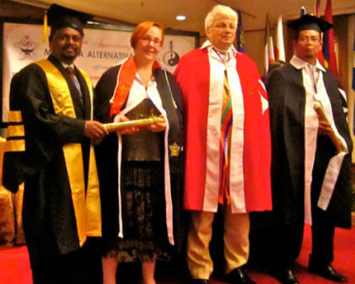 DOCTORATE From Colombo University Of Alternative Medicines Malaysia