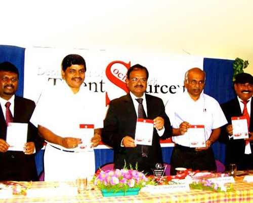 Book Release With Vice-Chancellor Of Bharathiar University